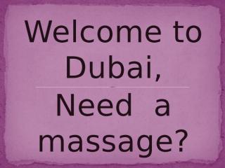 dubai massage.pptx