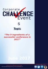"""The 9 ingredients of a successful conference in 2017"".pptx"