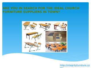 Are You In Search For The Ideal Church.pptx