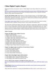 China Digital Copiers Report.doc