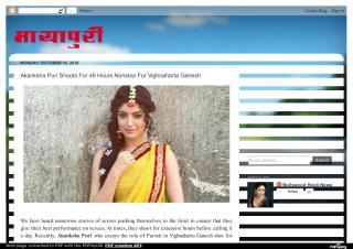Akanksha Puri Shoots For 48 Hours Nonstop For Vighnaharta Ganesh.pdf