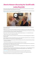Sherrie Hewson discussing her facelift with Lesley Reynolds.pdf