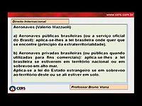 Aula 2.4 - Direito Internacional Privado; Competência Internacional; Lei Aplicável; Mercosul. - Bruno Viana.mp4