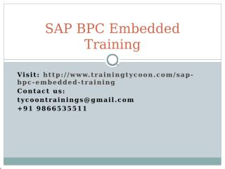 SAP BPC Embedded Training.pptx